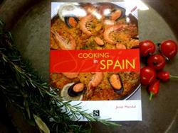 "Cook Book ""Cooking in Spain"" by Janet Mendel- sorry out of stock"